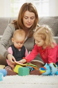 PIC_mum with kids_shutterstock_46242610