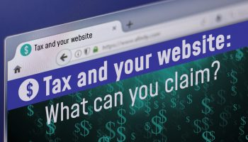 Tax and your website: What can you claim?